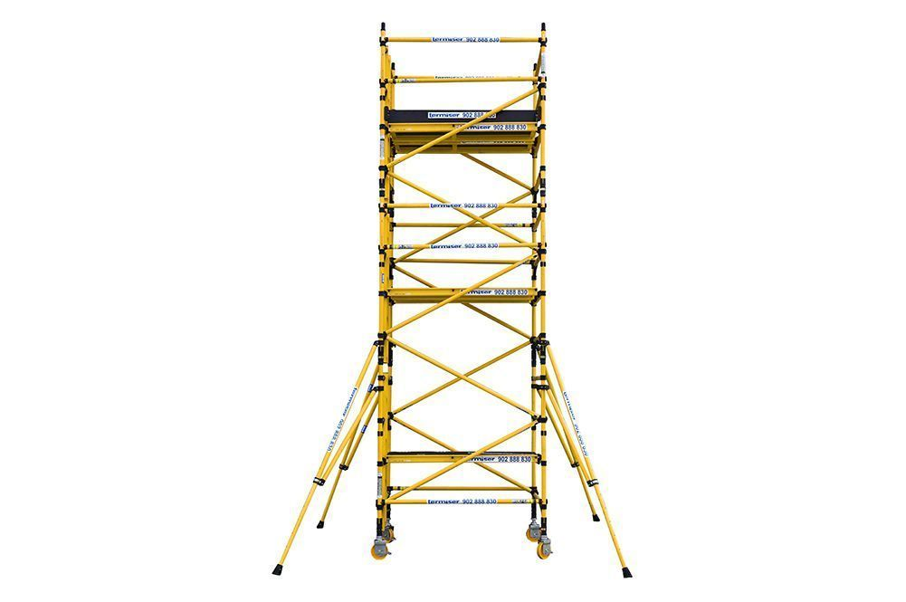 Tower Z0044 Rolling Towers Building Scaffolding Alufase 174